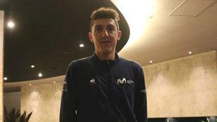 Marc Soler, en el hotel de Rionegro donde concedió la entrevista a...
