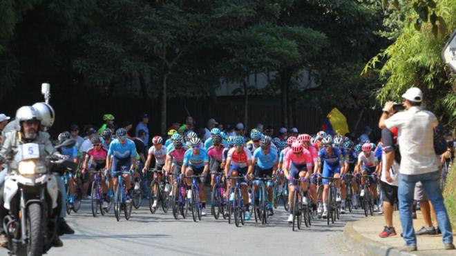 La 5ª etapa del Tour Colombia 2.1, minuto a minuto / InderMedellín