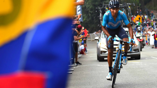Primera victoria WorldTour de Nairo en Colombia / Movistar Team
