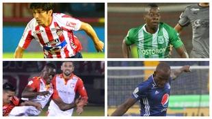 Protagonistas en la Liga Águila y los mejores colombianos en el...