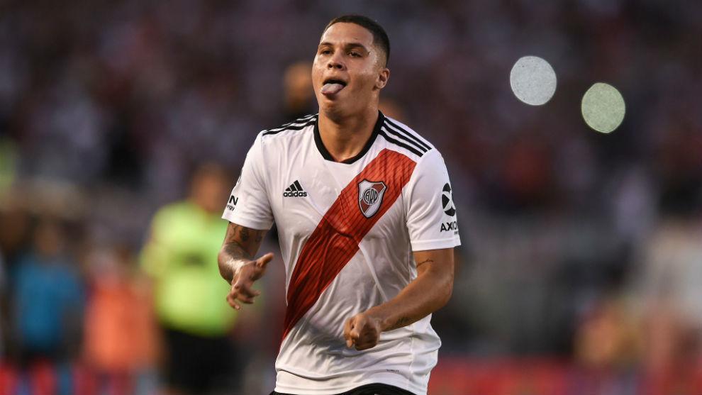 El dueño de la '10' de River Plate y autor de golazos importantes