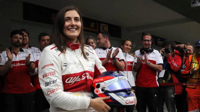 Tatiana Calderón logra un asiento en la Fórmula 2