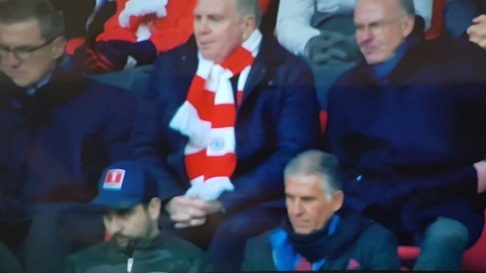 Carlos Queiroz presenció el partido de James contra Hertha en Alemania