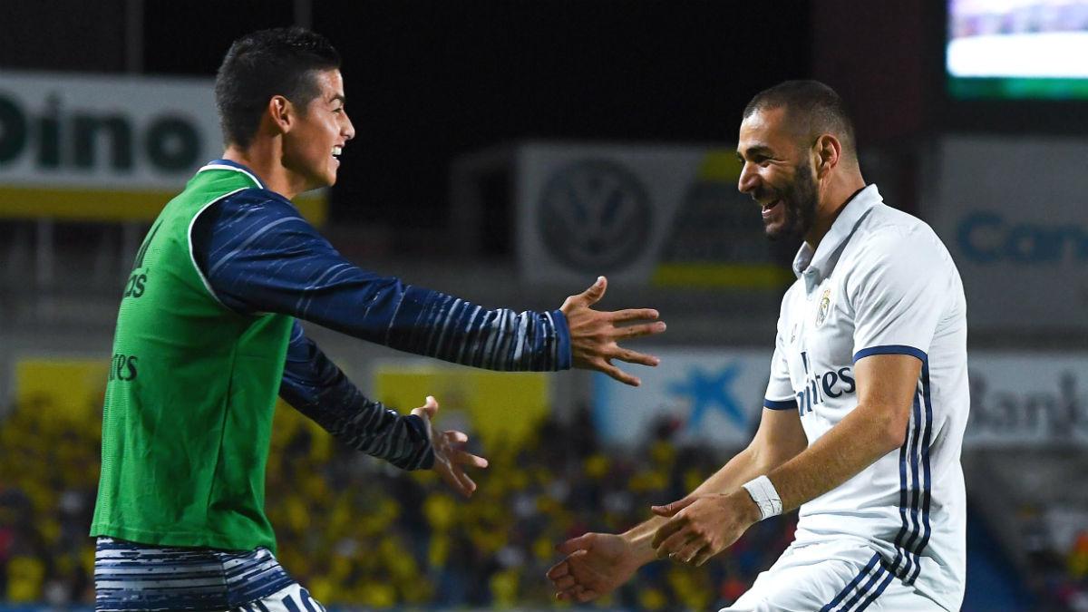 James Rodríguez se rinde ante el talento de Arturo Vidal