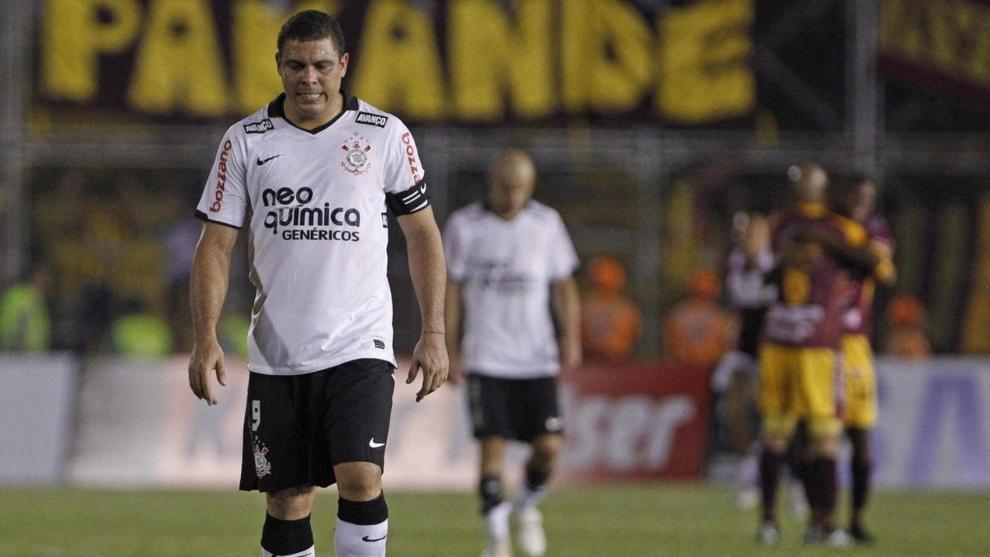 La última imagen de Ronaldo como jugador de fútbol.