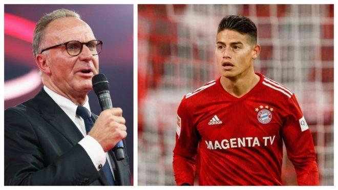 Bayern analiza ejercer opción de compra por James Rodríguez
