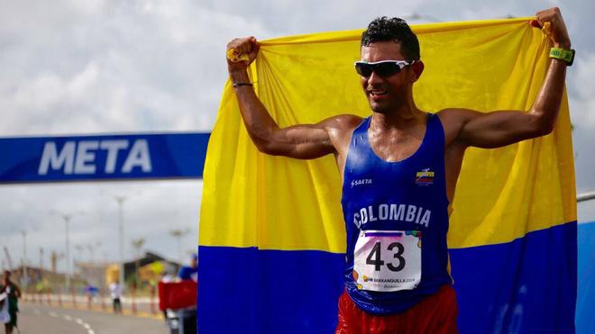El marchista, victorioso en los pasados Juegos Centroamericanos y del...