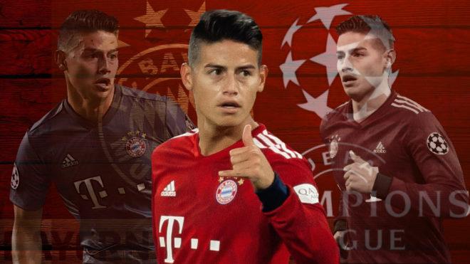 James, en el momento clave de la temporada para el Bayern