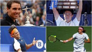 Nadal, Nishikori, Thiem y Tsitsipas estarán en Barcelona