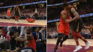 Monumental pelea en la NBA entre Serge Ibaka y Marquese Chriss