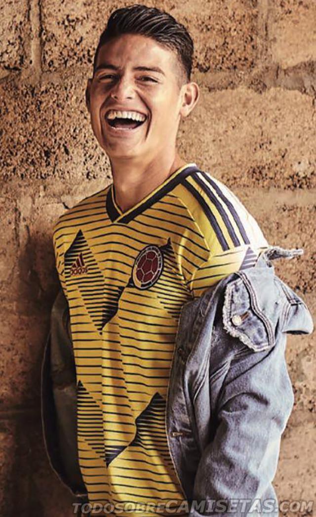 f1d9d8a9f Selección Colombia  Esta es la camiseta de la Selección para la Copa ...
