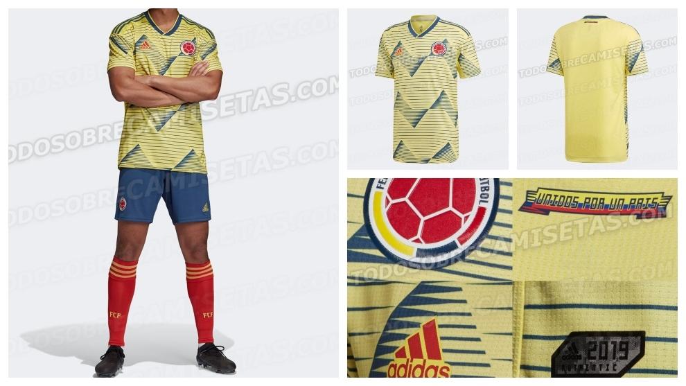 dffe3c7925 Selección Colombia  Se filtra el uniforme completo de la Selección ...