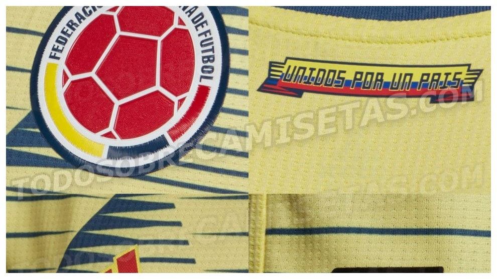 5afac0093b Selección Colombia  Se filtra el uniforme completo de la Selección Colombia