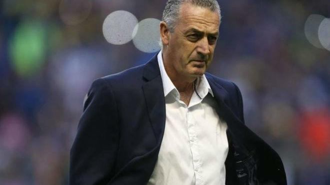 Gustavo Alfaro, director técnico de Boca Juniors.