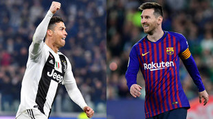 Montaje con Cristiano Ronaldo y Leo Messi EFE / Kiko Hurtado