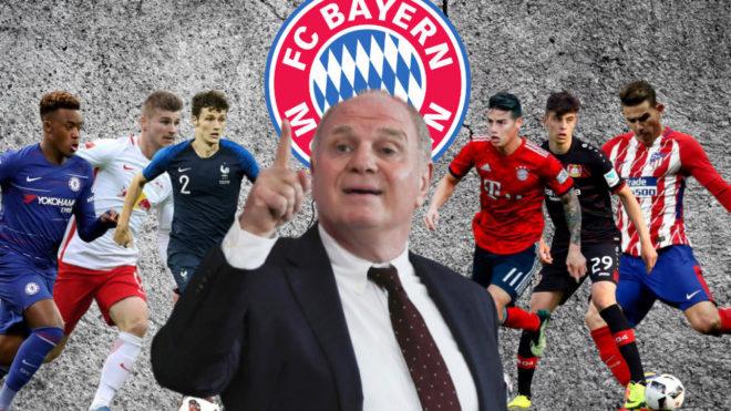 Los 5 jugadores que busca el Bayern Múnich