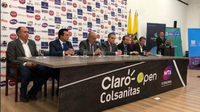 Presentación en Bogotá del Claro Open Colsanitas 2019