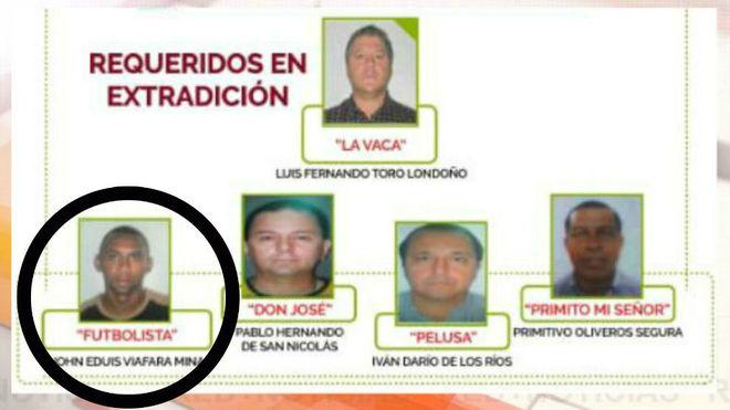 Esta es la estructura criminal que estaba dedicada al narcotráfico y...