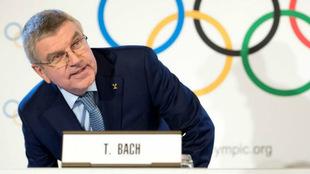 Thomas Bach, presidente del COI / Laurent Gillieron / EFE