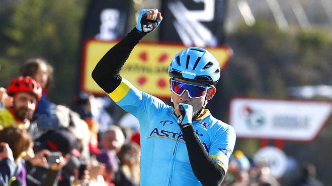 López en una de sus victorias de la Volt