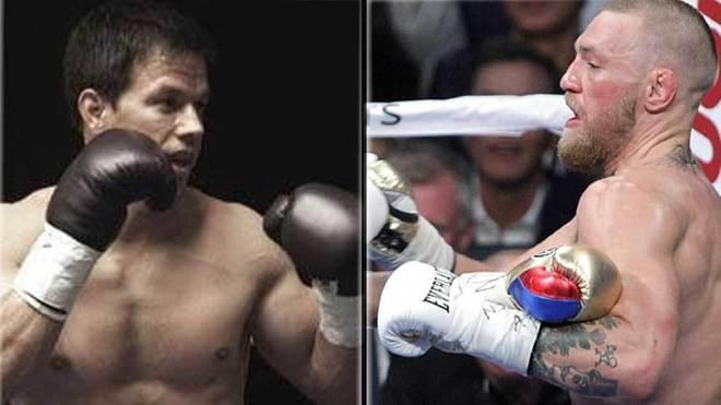 Mark Wahlberg boxeando en la película 'The Fighter' y Conor McGregor...