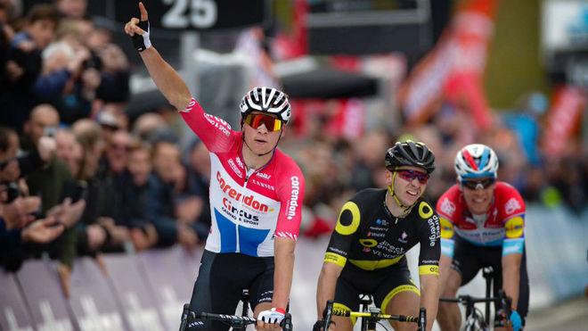 Mathieu van der Poel y su momento cumbre de victoria