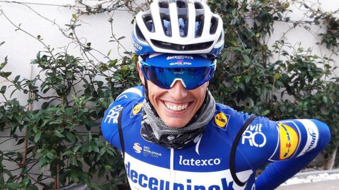 Enric Mas, compañero de equipo del colombiano Álvaro Hodeg