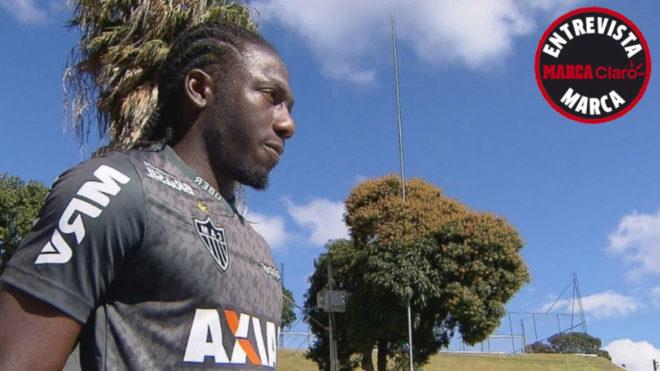 Yimmi Chará, extremo colombiano que milita en el Atlético de...