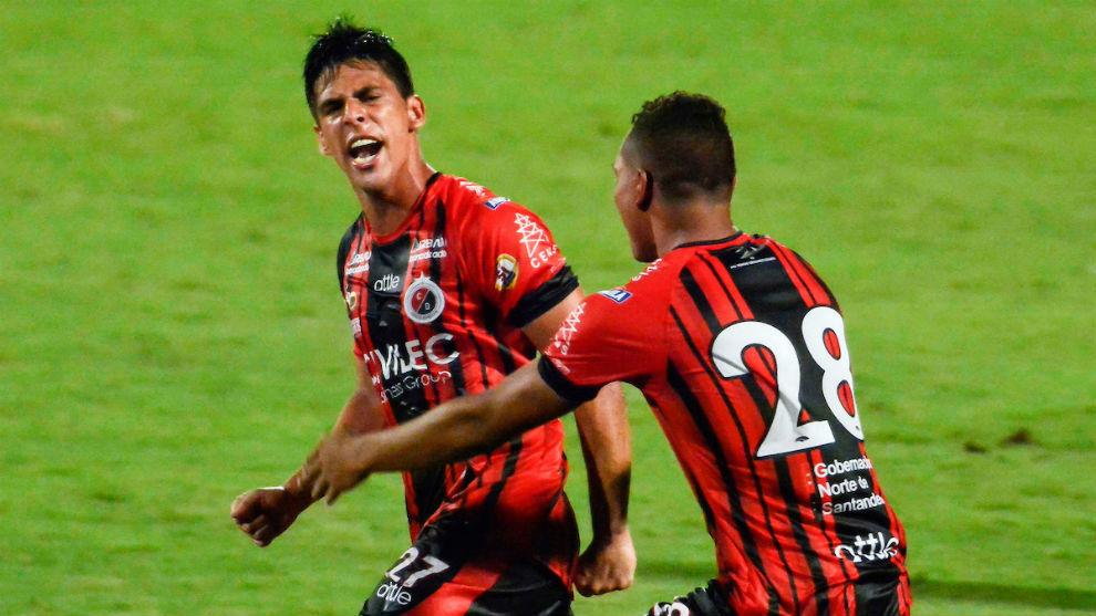 El grito de Duarte que le dio tres puntos al Cúcuta con su gol.