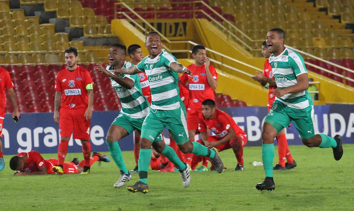 Equidad celebra paso la siguiente ronda del a Sudamericana