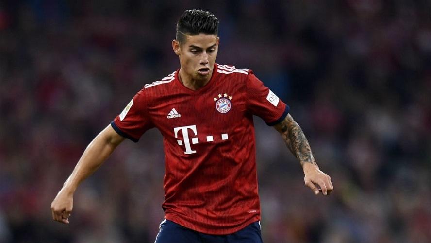 James vuelve a lesionarse: lesión Bayern Múnich