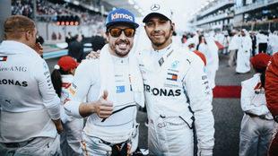 Fernando Alonso y Lewis Hamilton / Paul Ripke