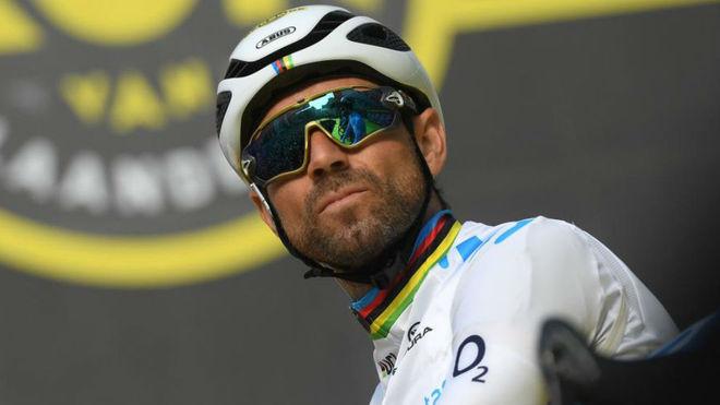 Alejandro Valverde en una imagen de esta temporada / David Stockman