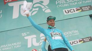 Felix Grossschartner, en el podio de los mejores
