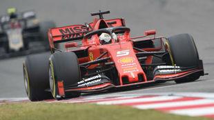 Vettel, en el Gran Premio de China / AFP