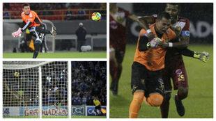 Dos goles le ha marcado Luis Delgado a José Fernando Cuadrado.