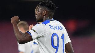 Duván suma 26 goles en la temporada con el Atalanta