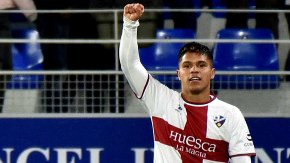 Se va del Huesca con 20 goles en su cuenta