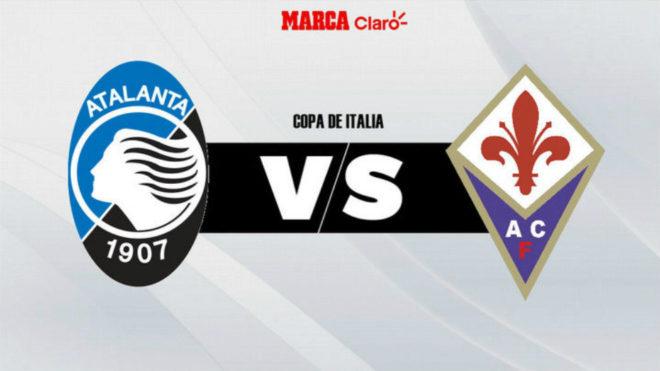 Atalanta vs Fiorentina, por un cupo a la final de la Copa Italia