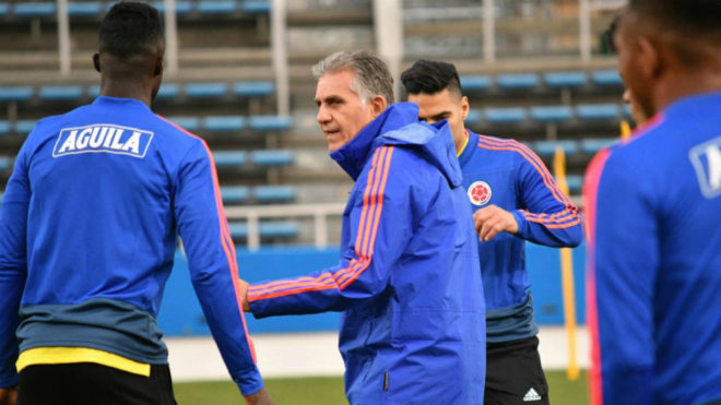 Carlos Queiroz, director técnico de la Selección Colombia.