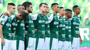 Deportivo Cali espera celebrar esta noche en Asunción (Paraguay) /...