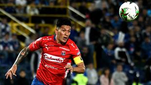 Germán Cano, delantero de Medellín.