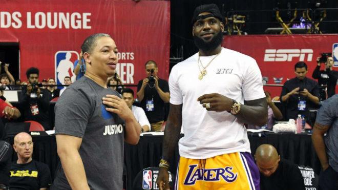 NBA: ¿Será? Tyronn Lue, cerca de volverse a encontrar con LeBron