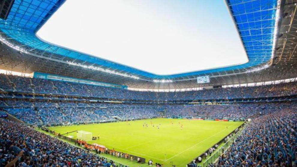 Interior del Arena do Gremio.