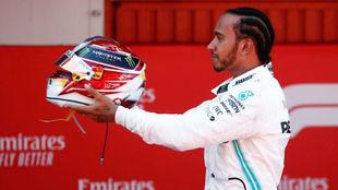 Lewis Hamilton, piloto británico.