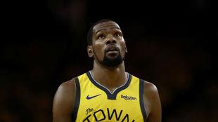 Kevin Durant es seria duda para la serie contra los Trail Blazers /...