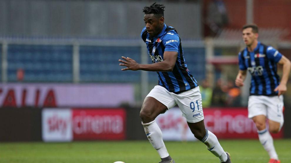 Duván le anotó en dos oportunidades a la Lazio en la temporada.