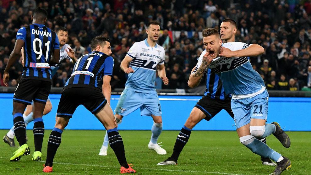 Lazio gritó campeón con un gol del argentino