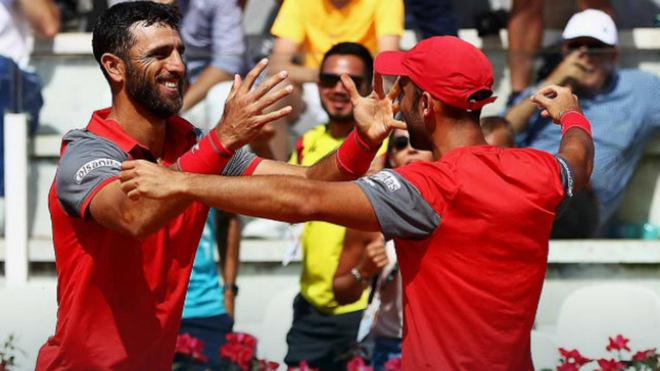 Cabal y Farah vencen a hermanos Bryan y son semifinalistas en Roma