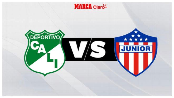 Deportivo Cali vs Junior, en vivo el minuto a minuto